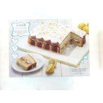Rechteckiges Kuchenform-Set mit Hohlräumen