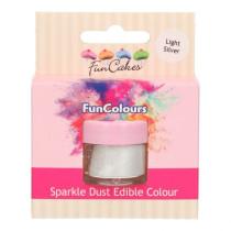 Sparkle Dust Edible Colour - Light Silver