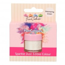 Dust Edible Colour - Shimmering Green