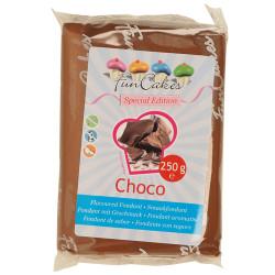 FunCakes Geschmacksfondant  Choco Special Edition, 250g - Mindesthaltbarkeitsdatum 03.11.2017
