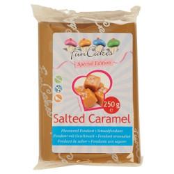 FunCakes Geschmacksfondant  Salted Caramel Special Edition, 250g