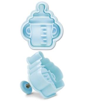 Ausstecher mit Prägung Babyfläschchen, 5,0cm