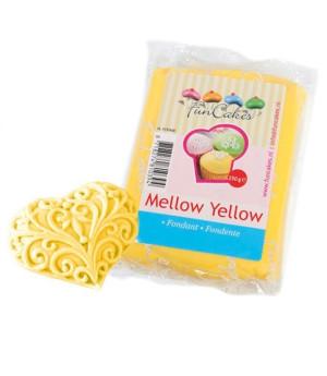 Fondant, 250g Mellow Gelb