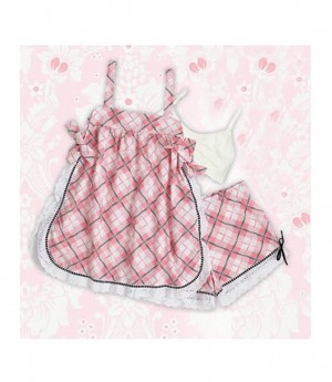 Baby Doll Pretty in Plaid Größe Large