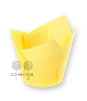 SK Muffin Wraps Gelb, 50 Stück