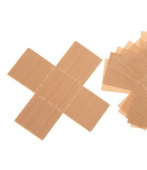 Wiederverwendbare Backfolie für Mini-Kuchen in Quadrat