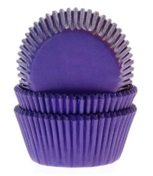 Muffinförmchen Violett, 50 Stück
