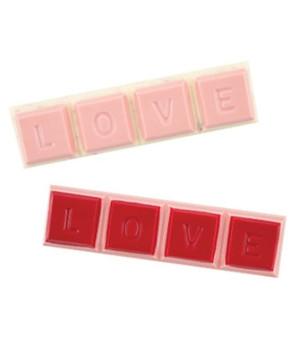 Schokoladenform Tafel Love
