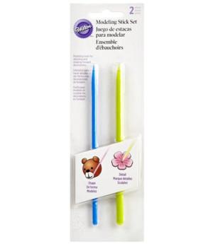 Modellier Sticks, 2-teilig