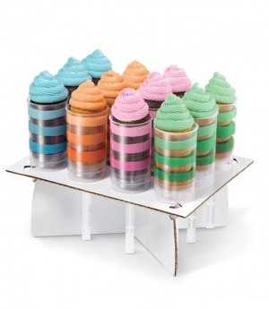 Push Up Cake Display Stand, 12 Stück