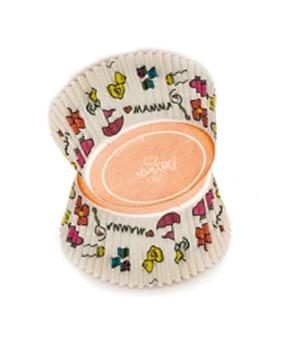 Muffinförmchen klein Baby Accessoires, 200 Stück