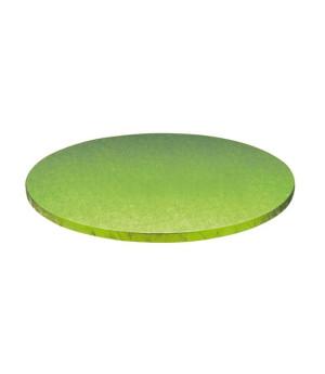 Stabile Runde Tortenunterlage Hellgrün, 25cm