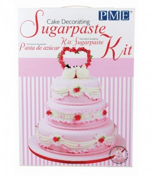 Cake Decorating Sugarpaste Set