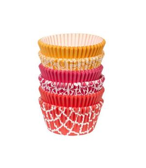 Muffinförmchen Set Multi Geometric, 150 Stück