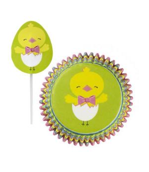 Muffinförmchen  Ostern Combo, 24 Stück