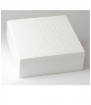 Dummie aus Styropor, quadratisch, 20 x 20 x 7,5 cm