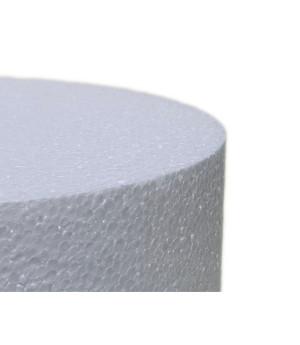 Dummie aus Styropor, rund, 10 x 10 cm