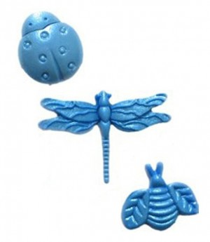 Fondant Silikonform Insekten