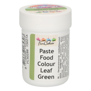 Funcakes FunColours Paste Food Colour - Leaf Green/Blattgrün 30 g