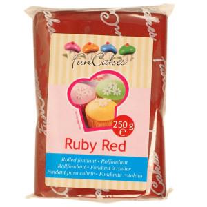 Fondant, 250g Ruby Red