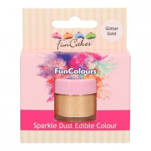 Dust Edible Colour - Glitter Gold