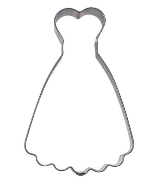 Ausstecher Kleid, 9,0cm