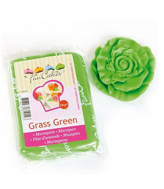 Marzipan, 250g Grass Green