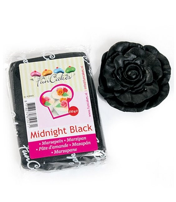 Marzipan, 250g Midnight Black