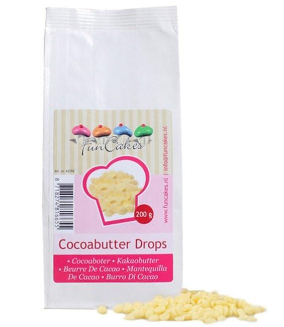 Kakaobutter Drops, 200g