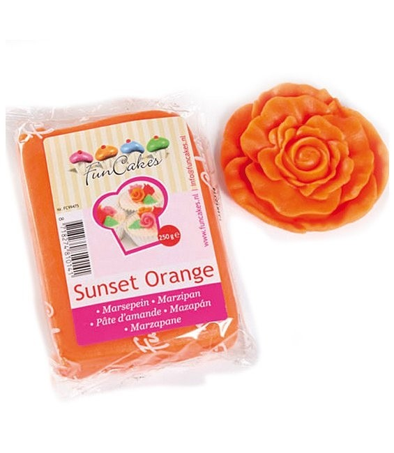 Marzipan, 250g Sunset Orange
