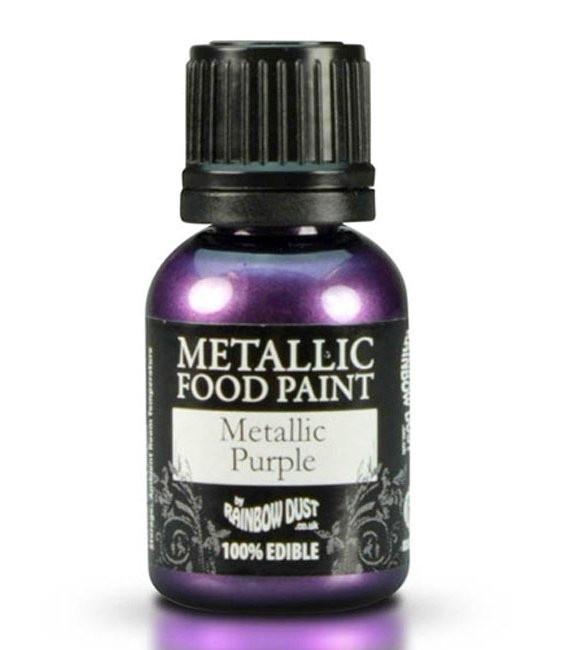 RD Metallic Food Paint Metallic Purple