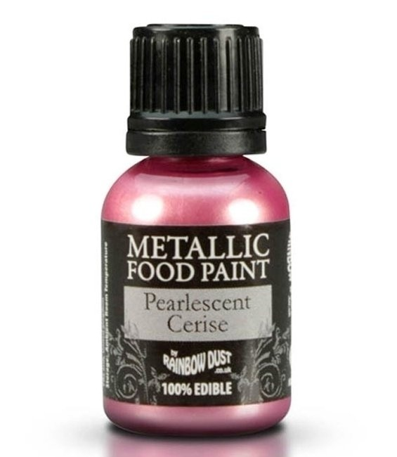 RD Metallic Food Paint Pearlescent Cerise