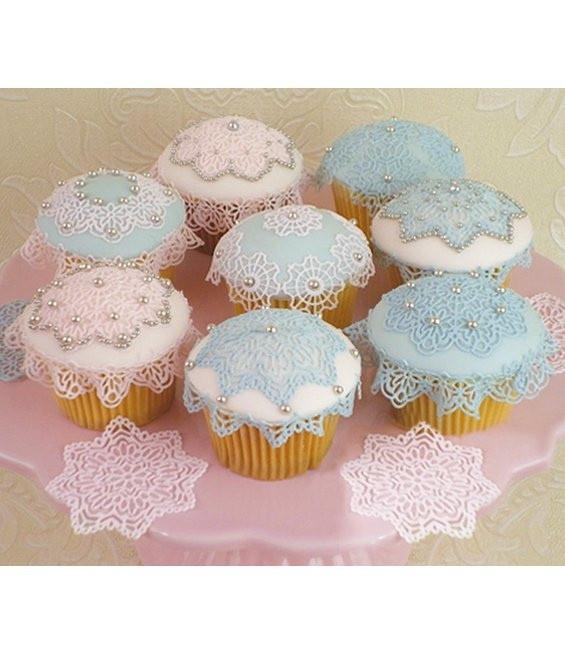 Anastasia Lace Cupcake Matte