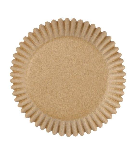 Muffinförmchen Ungebleicht, 75 Stück