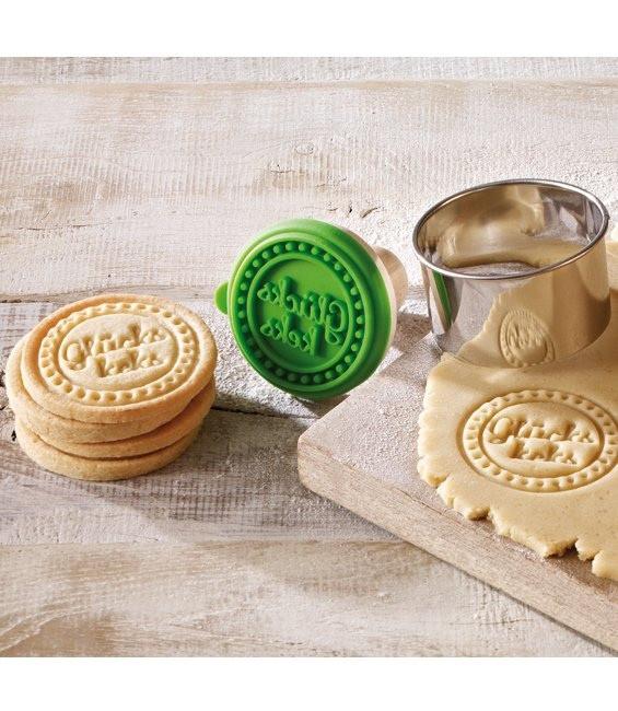 Cookie- Keksstempel Glücks Keks, 7 cm