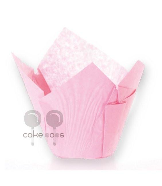 SK Muffin Wraps Rosa, 50 Stück