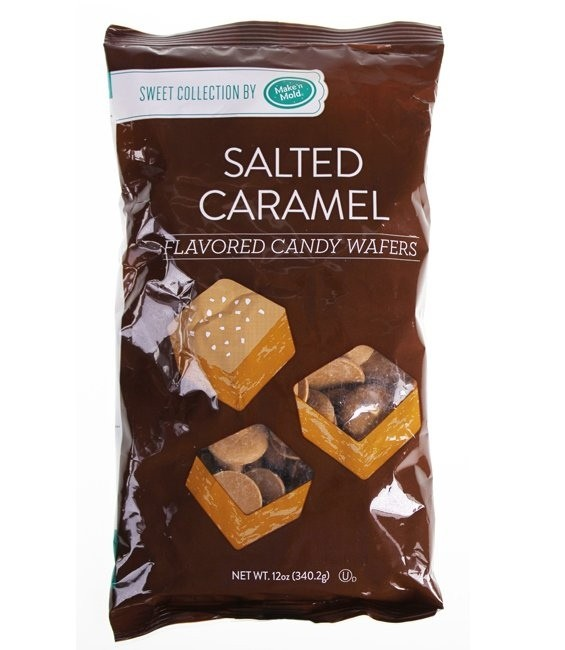 Candy Wafers, 340g Salted Caramel
