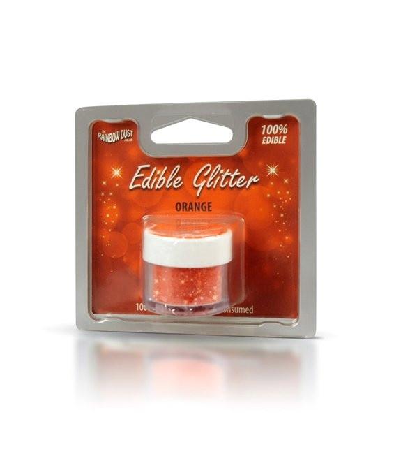 RD Edible Glitter Orange - MHD 31.12.2017