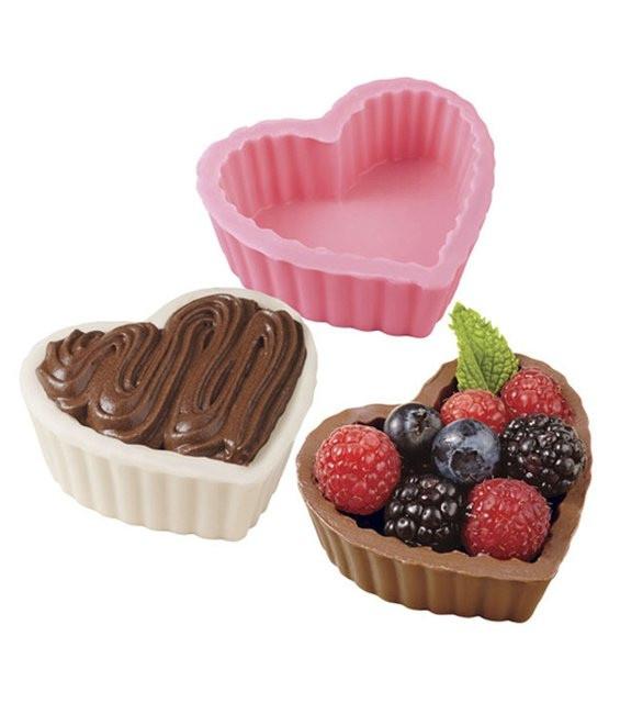 Schokoform Dessert Herzen