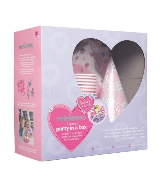 Party Set für Girls Prinzessin, 74-teilig