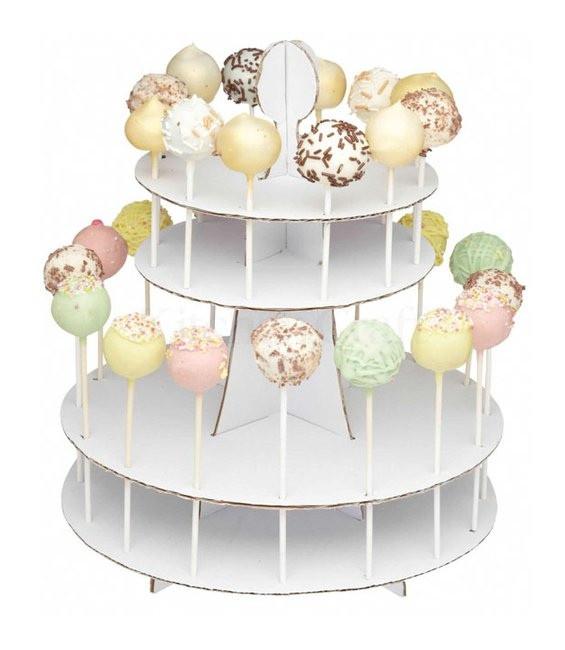 Cake Pops Dekorations Ständer