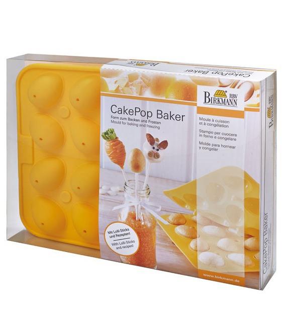 Silikonbackform Cake Pops Baker Eier