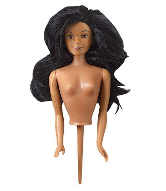 Puppe Ethnisch mit Pix
