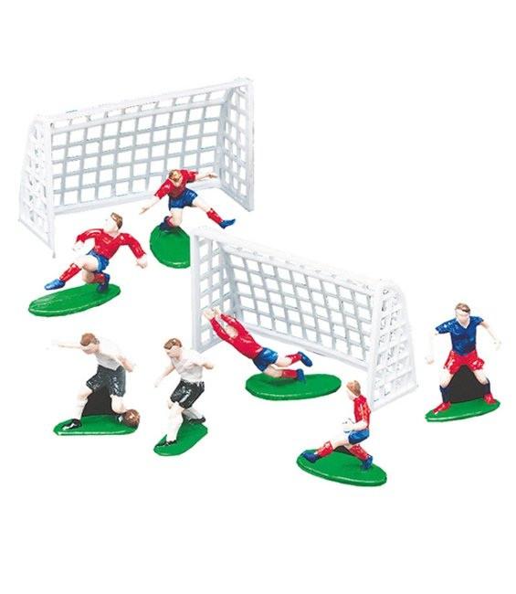 Deko Fussball Set, 9-teilig