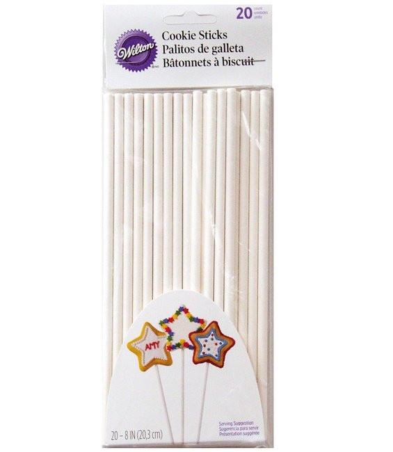 Backofen geeignete Lollipop Sticks 20 cm, 20 Stück