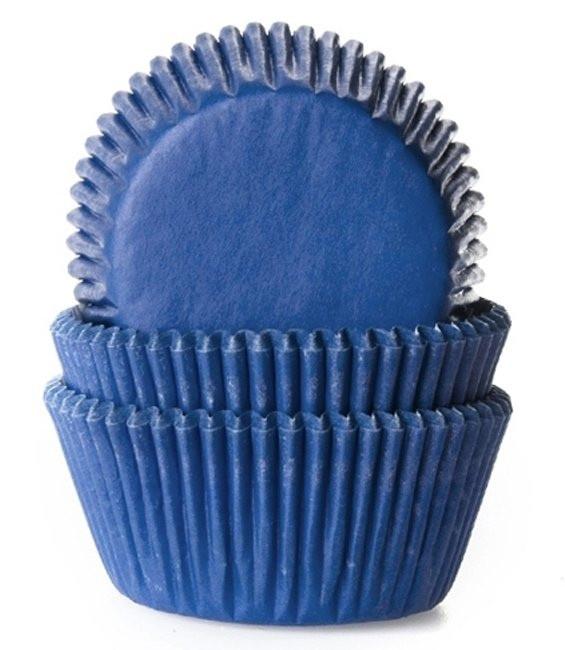 Muffinförmchen Jeansblau, 50 Stück