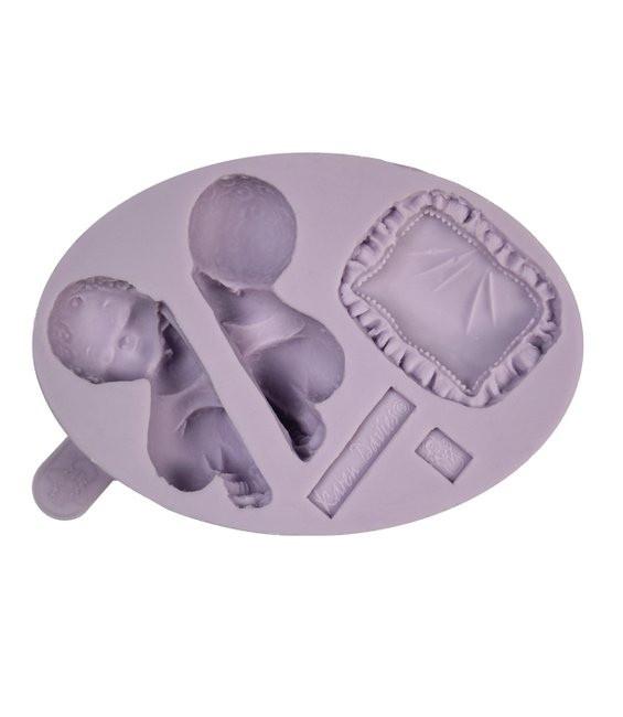Fondant Silikonform Baby