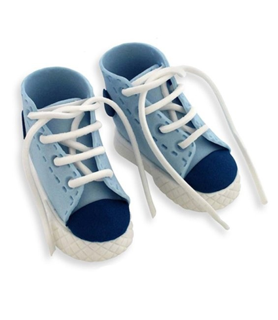 Fondant Ausstecher High Cut Sneaker Set, 6-teilig