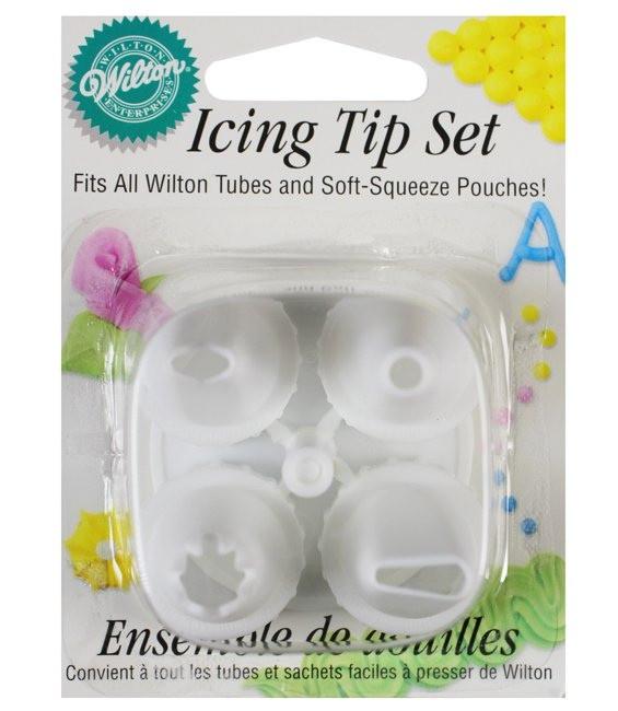 Icing Tip & Nail Set, 5-teilig