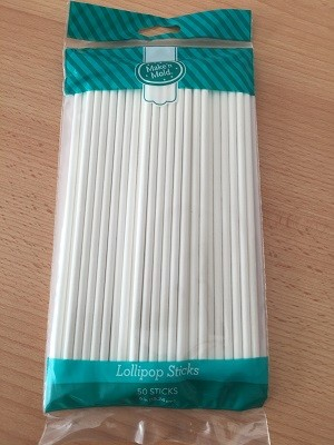 50 Lollipop Sticks 15,24 cm, 50 Stück